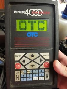 Otc Monitor 4000 Enhanced Diagnostic System Scan Tool
