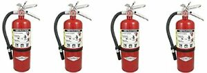 Amerex B500 5lb Abc Dry Chemical Class A B C Fire Extinguisher 4 new