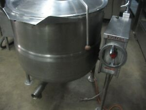 Tilt Gas 60 Gallon Steam Kettle Price Reduced