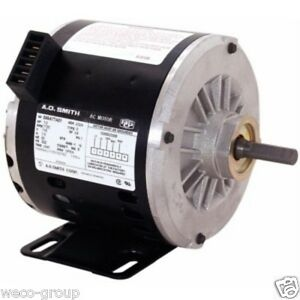 Oteb2054a 1 2 Hp 1725 Rpm New Ao Smith Electric Motor