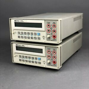 1 Hp Agilent 3478a Digital Multimeter 5 5 Digit Dmm Tested Good
