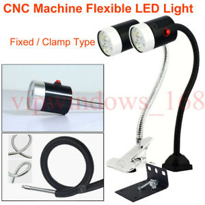 Flexible Cnc Machine Led Light Lighting For Lathe Milling Router Sewing 3w 6w 9w