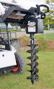 Bobcat Skid Steer Attachment Lowe 750 Round Auger Drive With 12 Bit Ship 199