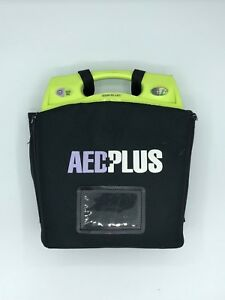 Zoll Aed Plus Aed With Black Carry Case Includes Generic Pads And Batteries