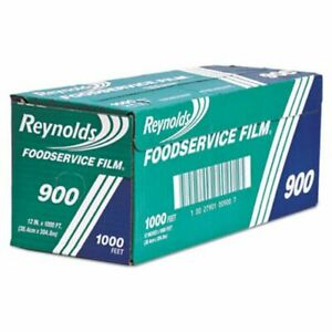 Reynolds Wrap Clear Continuous Cling Food Film 12 In X 1000 Ft Roll rfp900brf