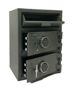 F2820ee Double Door Drop Slot Safe With High Security Electronic Lock