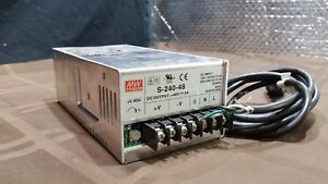 Mean Well S 240 48 Power Supply 48vdc
