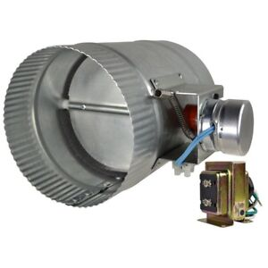 Automated Damper Normally Close Steel Housing Stud mount Transformer Low Voltage