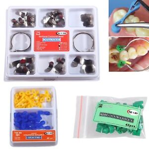 Dental Sectional Contoured Matrices Matrix Ring Delta No 1 398 Add on Wedges