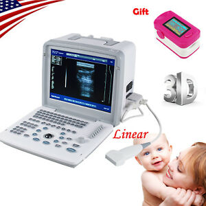 Portable Laptop Ultrasonic Machine Ultrasound Scanner Linear Probe sensors 3d