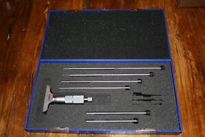 Fowler Depth Micrometer 0 150mm 52 225 150 Complete Set