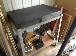 Granite Surface Plate Inspection Table 2ft X 3ft With Stand