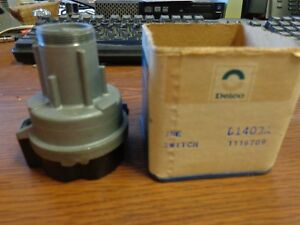 Vintage Chevrolet 1116709 D1403a Delco Remy Ignition Switch 1967 1972