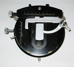 Carl Zeiss Inverted Microscope Mechanical Stage
