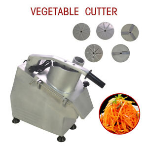 110v 550w Commercial Food Processor Vegetable Cutter Vegetable fruit Slicer Top