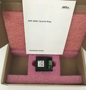 Axis Security Relay Box A9801 P n 5801 141 New