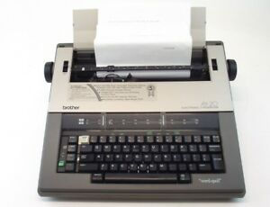 Brother Ax 20 Electric Typewriter Word spell Auto Correct W Cover
