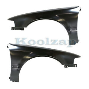 For 90 93 Accord 2 2l Front Fender Quarter Panel Steel Left Right Side Set Pair