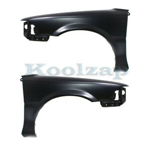 For 88 92 Corolla Sedan Wagon Front Fender Quarter Panel Left Right Set Pair