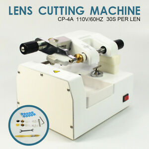 70w Cp 4a Optometry Eyeglass Optical Lens Cutter Cutting Milling Machine Hot
