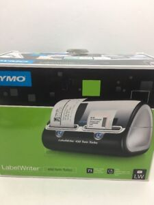 Dymo Label Writer 450 Twin Turbo Label Printer 71 Labels Per Minute Black