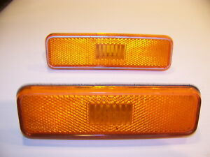 1972 1973 1974 Dodge Plymouth Amber Markers Oem 3587437 Challenger Cuda Duster