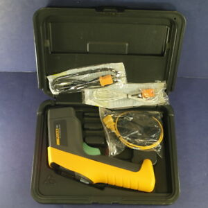 Fluke 561 Ir Thermometer Excellent Condition Case