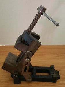 Vintage Stanley No 3992 a Adjustable Angle Vise Mill Drill Press Machinist Tool