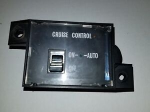 Cruise Control Switch 77 92 Rwd Cadillac Brougham Fleetwood Deville Oem