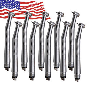 10 Nsk Max Style Dental High Speed Handpiece Fast Air Turbine 4 Hole Connection