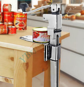 Stainless Steel Table Mounted Bar Kitchen Food Commercial Can Tin Opener
