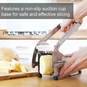 French Fry Cutter Set Best Vegetable Dicer Machine Commercial Potato Frie Slicer