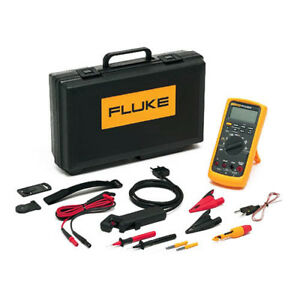 Fluke 88 v a Kit Ac dc Deluxe Automotive Dmm Combo Kit 1000v