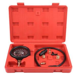 Car Engine Vacuum Fuel Pump Vacuum Tester Kit Gauge Leakage Diagnostic Tool Sm