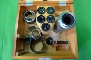 Carl Zeiss Jena Microscope Mikroskop Components Eyepieces