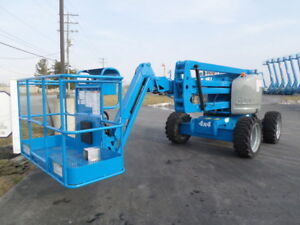 2007 Genie Z45 25j Articulating Boom Lift Manlift Z boom Aerial Knuckle Boomlift