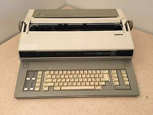Brother Em 701fx Em 701 Electronic Typewriter