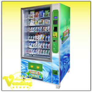 New Dvs Duravend 5c Combo Vending Machine