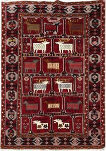 Discount Rugs Handmade Rug 5x7 Genuine Persian Rug