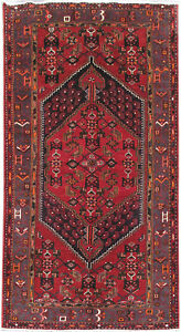 Affordable Area Rugs Hand Knotted Rug 4 X 8 Persian Semi Antique Hamadan Rug