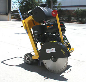 Walk Behind Push Pavement Concrete Cut Off Saw 16 Blade 420cc 13hp Gas Power