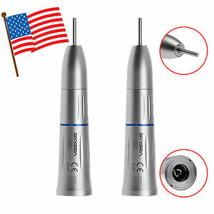 2 usa Skysea Dental Inner Water Spray Low Speed Straight Handpiece Fit Kavo Ei4