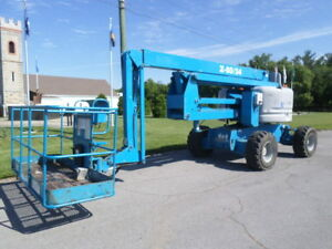 2006 Genie Z60 34 Articulating Boom Lift Manlift Z boom Aerial Knuckle Boomlift