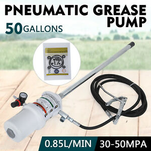 50 Gallon Grease Pump Lubricator 30 60 Mpa White Lubricator 0 85 L min Pro