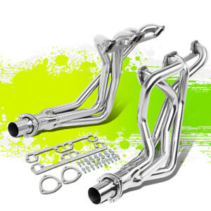 4 1 Long Tube Exhaust Header Manifold Kit For 72 91 Dodge D w series 5 2l 5 9l