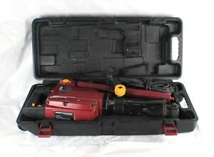 Chicago Electric Demolition Jack Hammer 93853 W 2 Bits In Case Demo Power Tool