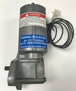 Ge 0177c5050g5 Charging Motor For Akr Vb1 And Wavepro New 240ac 220dc 250dc