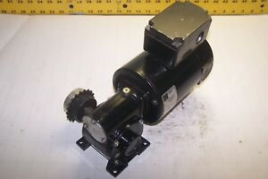 Bodine 20 1 Ratio 1 4 Hp Right Angle Dc Gear Motor 5 8 Dia Shaft 42a5bepm 5n