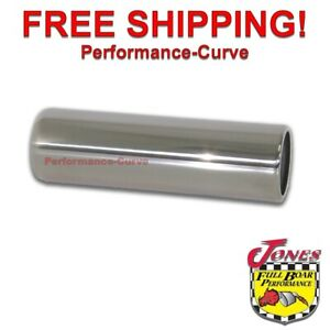 Stainless Steel Exhaust Pencil Tip 2 5 Inlet 2 75 Outlet 9 Long