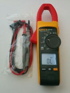 Fluke 375 Fc True Rms Ac Dc Clamp Meter Multimeter New Test Lead Probes Nice